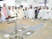 عبدالعزيز بن سلمان يطلع على مشروعات كهرباء ومياه دبي في مجال الطاقة المتجددة