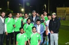 فريق المملكة يحرز كأس بطولة الطلبة الخليجيين الأولى في مصر