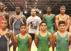 «أخضر المصارعة» يواصل الإعداد لدولية روسيا