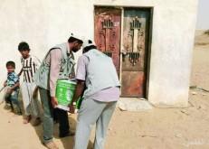 «إغاثي الملك سلمان» ينظم جلسات إرشادية لأسر الأيتام.. ويوزع 380 سلة غذائية في حجة