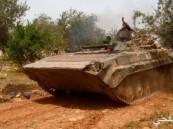 الجيش السورى يدمر منصات للإرهابيين بريف حماة