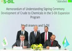 ولي العهد يبارك أكبر تلاحم سعودي كوري لتطوير الصناعات البترولية والبحرية وتعزيز تنافسية «أرامكو»