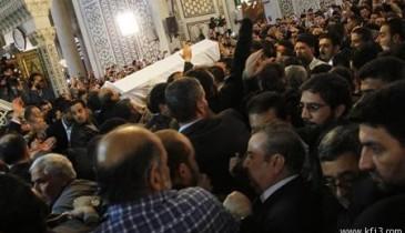 دفن رجل الدين السوري البوطي إلى جوار قبر صلاح الدين