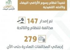 «الأراضي البيضاء» يصدر 147 قراراً جديداً على مخالفي النظام