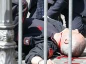 إطلاق نار أمام مقر الحكومة الإيطالية