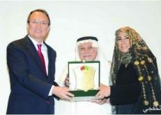 تكريم سعودية أطلقت أول وكالة إعلامیة صینیة عربیة