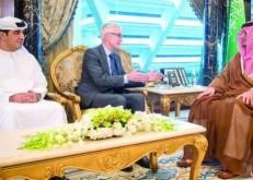 وزير الداخلية يستقبل أمين عام «الإنتربول»