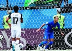 بهدفي كوتينيو ونيمار البرازيل تتخطى كوستاريكا.. وثنائية موسى تقود نيجيريا للفوز على آيسلندا