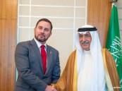 وزير الخارجية يستقبل سفير نيوزيلندا لدى المملكة