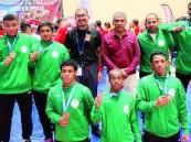 خمس ذهبيات وفضية وبرونزية للمصارعة السعودية