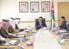 الطراونة يلتقي أعضاء لجنة الصداقة البرلمانية السعودية الأردنية