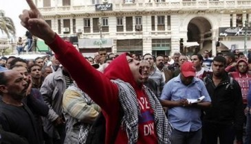 سقوط مصابين في اشتباكات خلال مظاهرات احتجاج بمصر