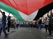 """الفلسطينيون يحيون ذكرى """"يوم الأرض"""" باحتجاجات محدودة"""