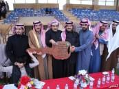المفتي يفوز بسيارة دعم شركة أرامكو لأعمال الخليج في فروسية الخفجي