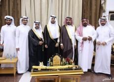 """فرحان الضيف الله يحتفل بزواج نجله """"محمد"""""""
