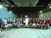 مؤسسة رحال الدولية يظفر بكأس مجمع المنار الطبي في دوري الخفجي التطوعي لكرة السلة