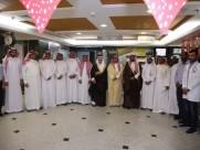 لجنة أصدقاء المرضى تزور مستشفى الخفجي العام وتتبرع بدعم إحتياجاته بمبلغ160550 ريال