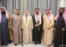 أبناء محمد السماري يحتفلون بزواج أخيهم «عبدالرحمن»