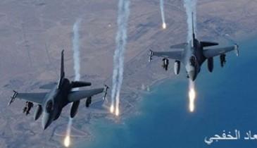 مصادر سورية: التحالف الدولى يشن غارات على ريف دير الزور