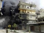 سكان دمشق يسمعون أصوات انفجارات عنيفة