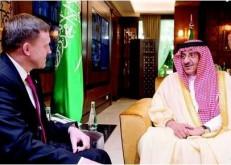 ولي العهد ومدير وكالة الأمن القومي الأميركي يبحثان تعزيز التعاون لمحاربة التطرف ومكافحة الإرهاب