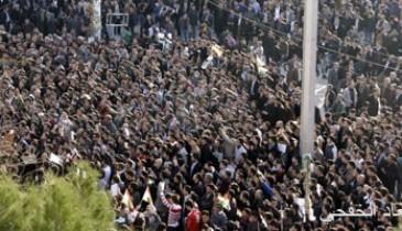 مئات العراقيين يتظاهرون فى محافظة ديالى لرفض استفتاء إقليم كردستان