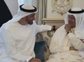 ولي عهد أبوظبي يستقبل الأمير عبدالعزيز بن سلمان