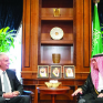 الجبير يستقبل وفد مجلس سياسة الشرق الأوسط MEPC