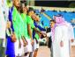 """فيصل بن مشعل يحفز لاعبي """"الأخضر"""" ويؤكد أن دعم المنتخب واجب"""