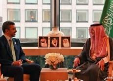 الجبير يستقبل وزير الخارجية والتعاون الدولي الإماراتي