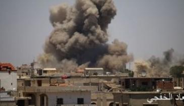 الدفاعات الجوية السورية تحبط هجوما إسرائيليا فى الجنوب