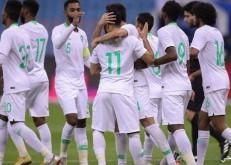 «الأخضر» يكسب لقاءه أمام غينيا بثلاثية