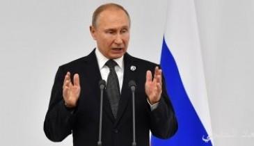بوتين: التسوية فى سوريا قد تمثل نموذجا لحل الأزمات الإقليمية