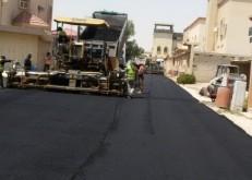 بلدية الخفجي تواصل استكمال المرحلة الرابعة لصيانة شوارع المحافظة