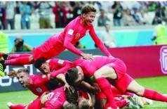 الإعلام الإنجليزي يحتفل بالفوز على تونس