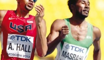 """تألق سعودي في بطولة العالم لـ""""القوى"""""""