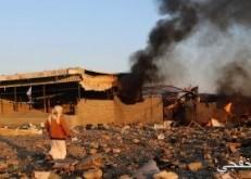 التحالف العربى يستهدف أهدافا لميليشيات الحوثى فى صعدة
