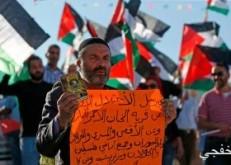 مسيرات فى الضفة ضد تهديدات الاحتلال بهدم وترحيل سكان الخان الأحمر