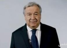 """الأمين العام للأمم المتحدة: على قادة العالم التسلح بـ""""الخطط """" خلال قمة المناخ"""