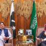 ولي العهد يجتمع مع رئيس وزراء جمهورية باكستان