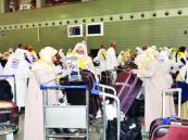 زيادة بعدد المسافرين القادمين عبر المطارات السعودية للحج من آسيا وأوروبا وأوقيانوسيا