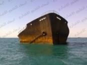 قصة السفينة (كازومارو) المحروقة مقابل سواحل الخفجي (تقرير مصور)