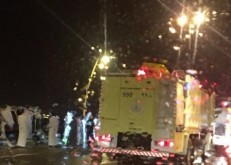 إنقلاب مركبة يتسبب في إصابة أربعة شبان في الخفجي