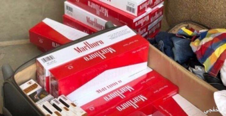 منفذ الخفجي يحبط 3 محاولات لتهريب أكثر من 80 ألف «سيجارة دخان»
