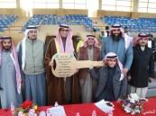 فروسية الخفجي:الرمش المكحول يحصد سيارة دعم شركة أرامكو لأعمال الخليج