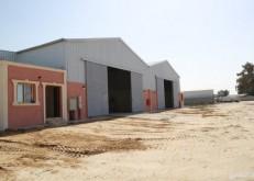 للبيع أو الإيجار مستودعات جاهزة في صناعية الخفجي