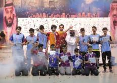 الجزيرة بطلاً لدوري «رمضان يجمعنا» في نادي حي الحسن البصري