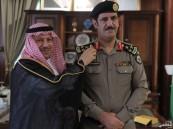 الهزاع يقلد مدير شرطة الخفجي الحقباني رتبة عميد