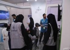 تطوعي الخفجي يوجه وينظم ويدرب زوار مهرجان كلنا الخفجي السابع