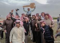 عفيفي يفوز بسيارة دعم شركة أرامكو لاعمال الخليج في فروسية الخفجي
